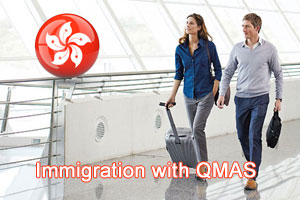migrate to Hong Kong through Hong Kong QMAS Visa